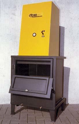 Bulldozer presse carton et bidon